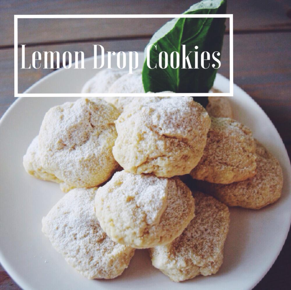 Lemon Drop Sugar Cookie
