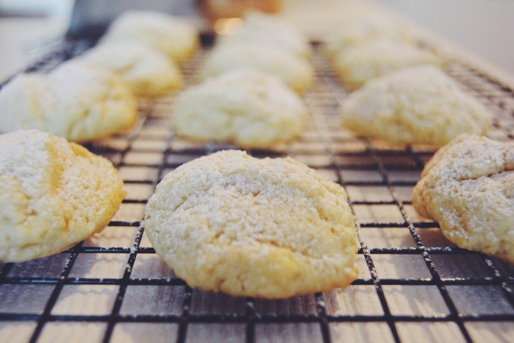 Lemon Drop Sugar Cookies