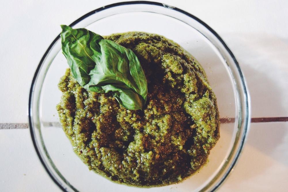 Pecan Pesto Recipe