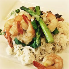 Lemongrass shrimp healthy and easy recipe