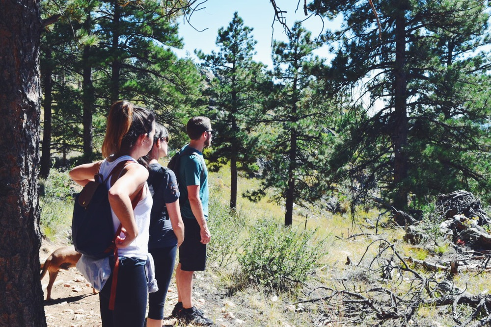 Boulder Colorado mountain hikes