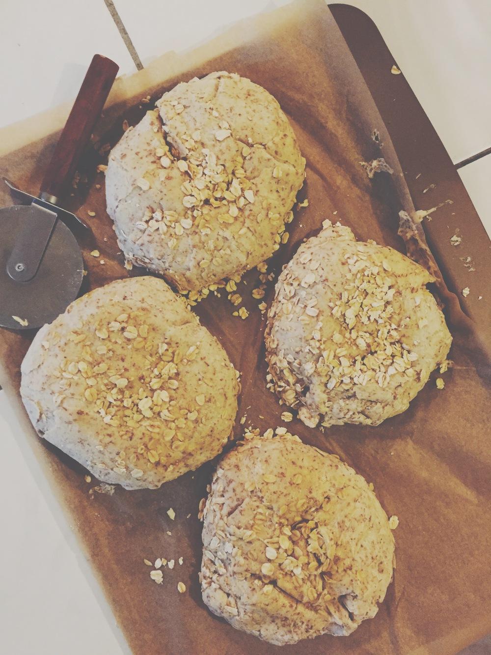 HoneyWheat + Oat Bread Dough