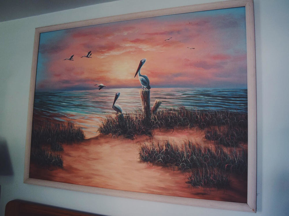 Madeira Beach Cottage Getaway. The typical Floridian painting.