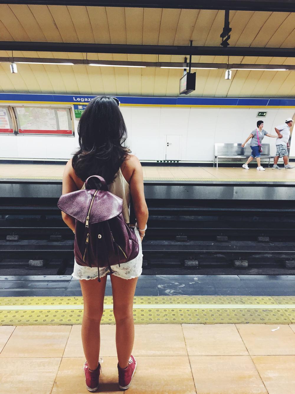 Spain in 2 Weeks: Photo Travel Guide. Madrid: Metro to El Escorial