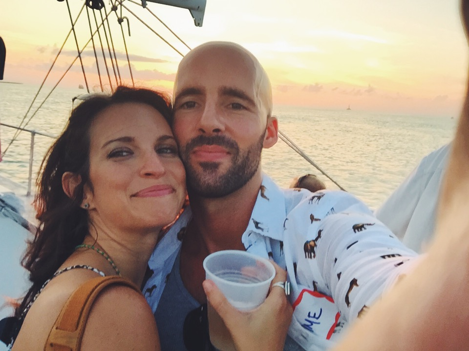 Key West sunset sail... no better way to experience the Florida waters