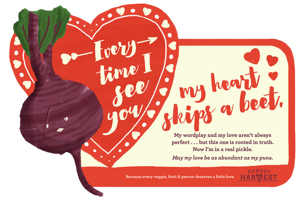 Heart Skips A Beete-Card - Want to share the love? Just click the download button below to e-mail, print & share to your heart's content!