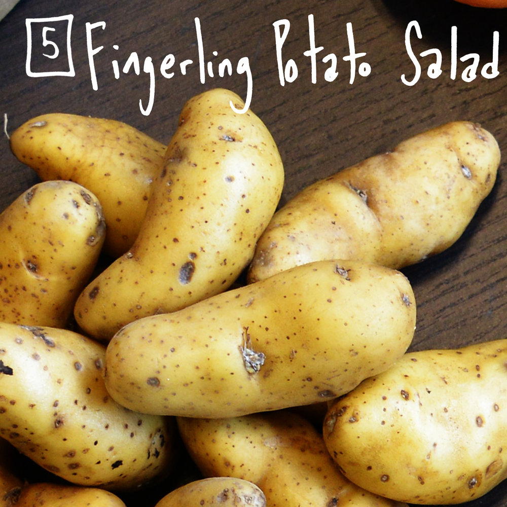 Put a twist on traditional potato salad at your next BBQ. - Find the recipe at: Epicurious