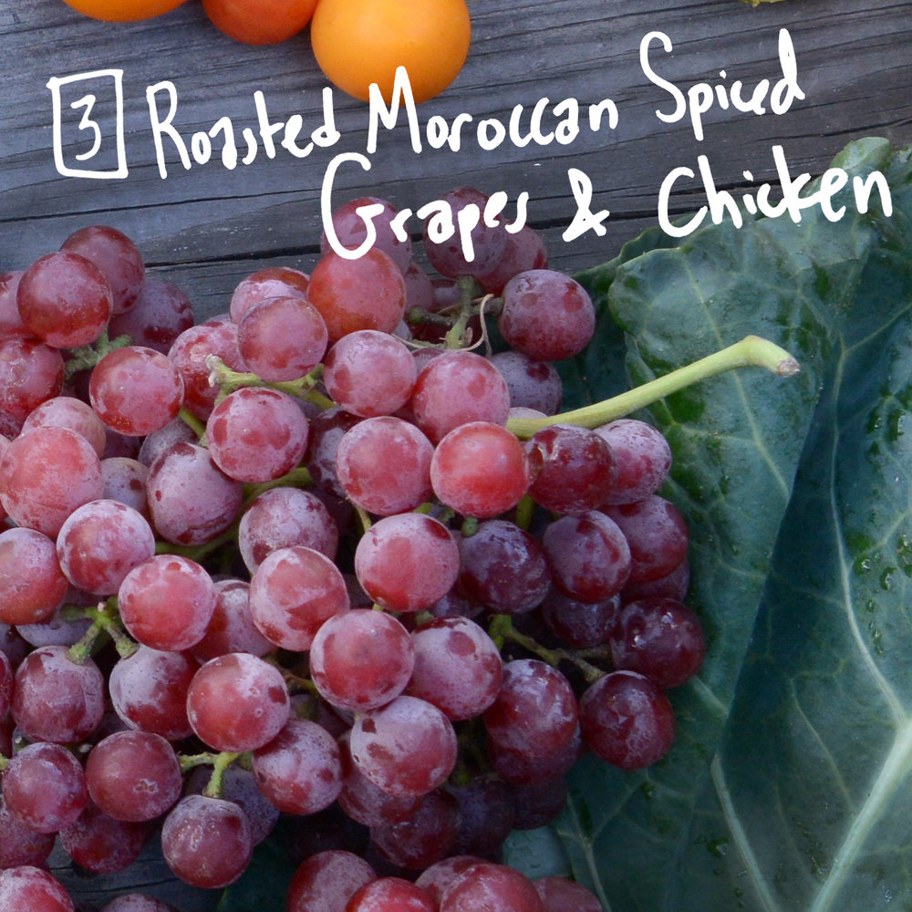 Grapes are often overlooked as an ingredient for cooking, but the flavor combination of this dish has our mouth watering. - Find the recipe at: My Recipes