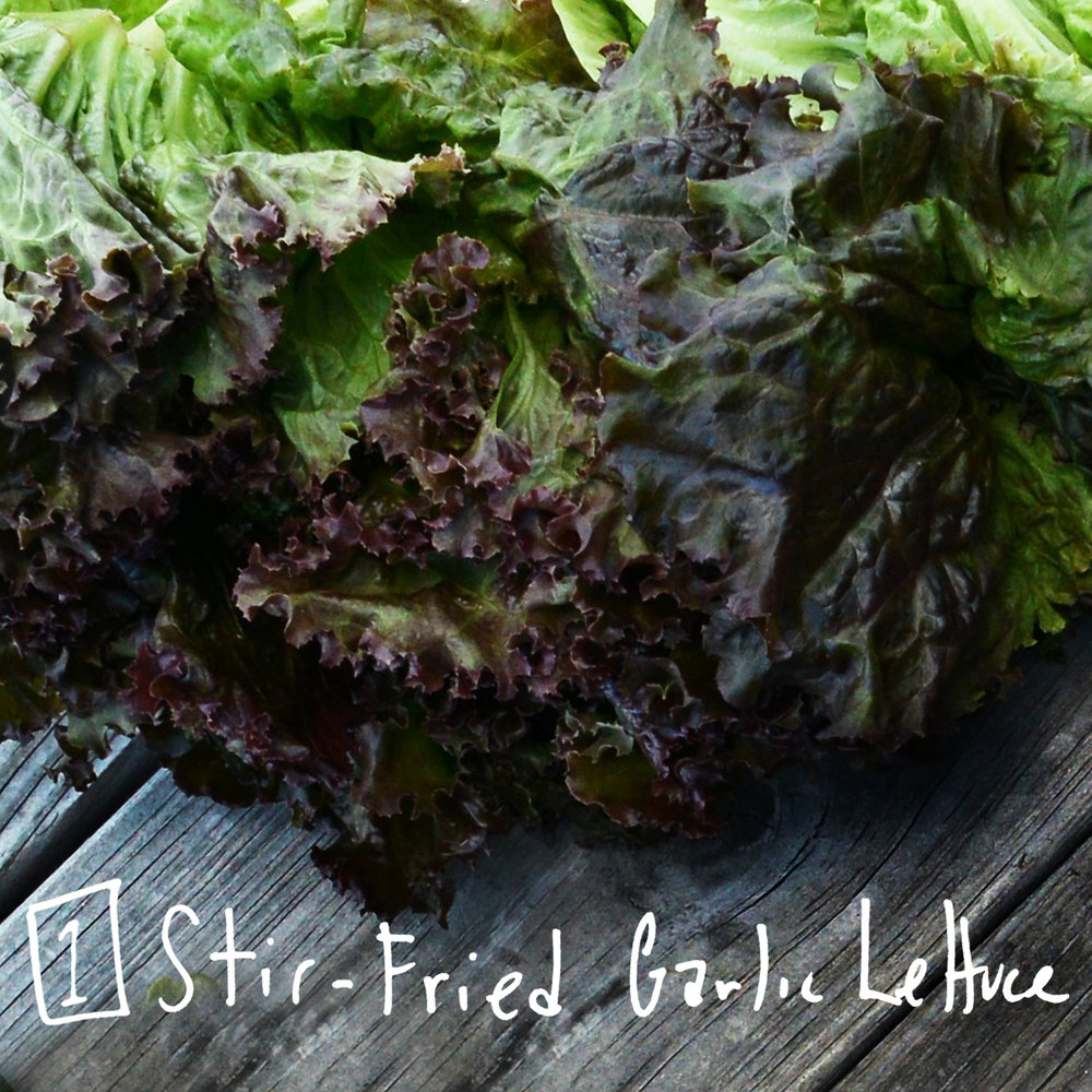 Tired of salads? Why not try cooking up lettuce instead? - Find the recipe at: Epicurious