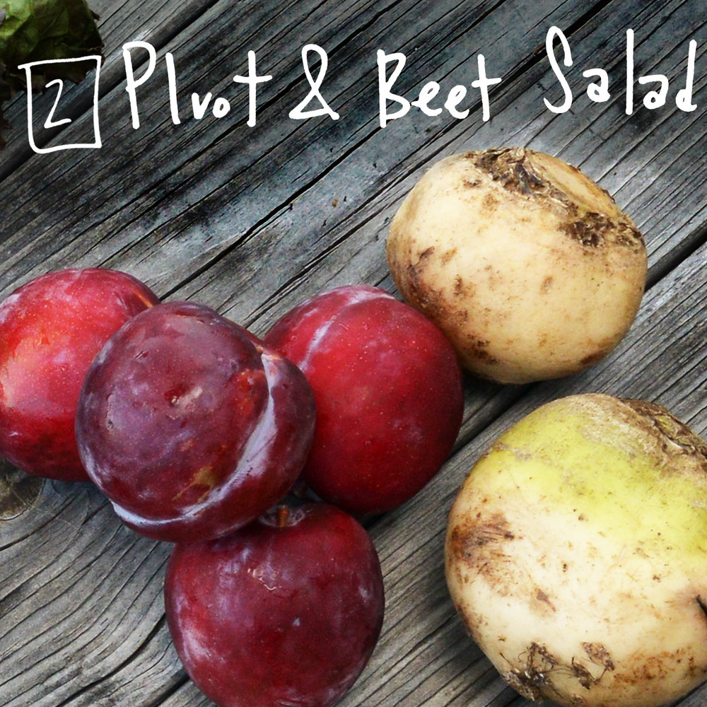 This plum apricot hybrid can be used to replace a stone fruit in any dish. Combined with beets, they make for a quick and easy, refreshing salad. - Find the recipe at: Real Simple