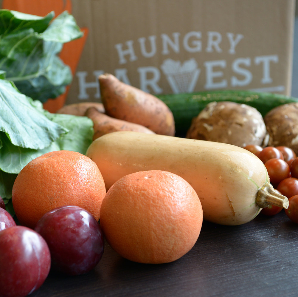 August 31, 2018 - Collard Greens, Sweet Potatoes, Cucumber, Mushrooms, Tomatoes, Butternut Squash, Grapefruit, PluotsFind the recipes here