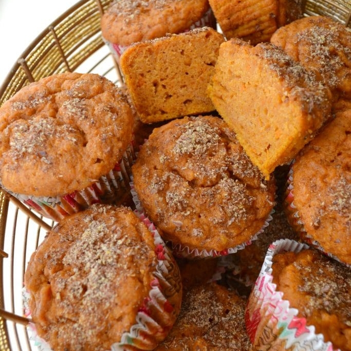 6. Sweet Potato Muffins - Give your mashed sweet potatoes new life with these delectable muffins.VIEW RECIPEPhoto: Good + Simple