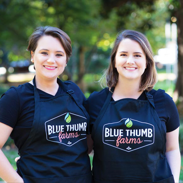 Farmer Spotlight: Blue Thumb Farms - It's not every day that you meet two scientists with a passion for sustainable farming and supporting their local community, so when Blue Thumb Farms called us earlier this year - we instantly knew they were our kind of people.