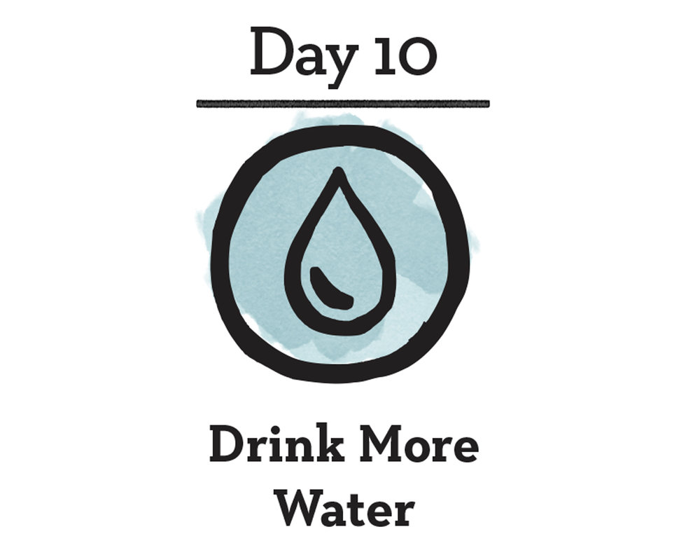 - Good For You:Did you know that your body is made up of about 70% water. Most of your blood and every cell in your body is made of water. Your brain is made up of 90% water! It makes sense then that you need to drink water to keep everything in check. Staying properly hydrated flushes out toxins, promotes regularity and can relieve and prevent headaches and fatigue.Good For The Planet:Tap water is approximately 3500 times cheaper than bottled water. When you use a reusable water bottle filled with water from the tap, you are not only saving money, but you are actually saving water too. Two gallons of water are wasted during the production process for every one gallon of water that goes into plastic bottles.