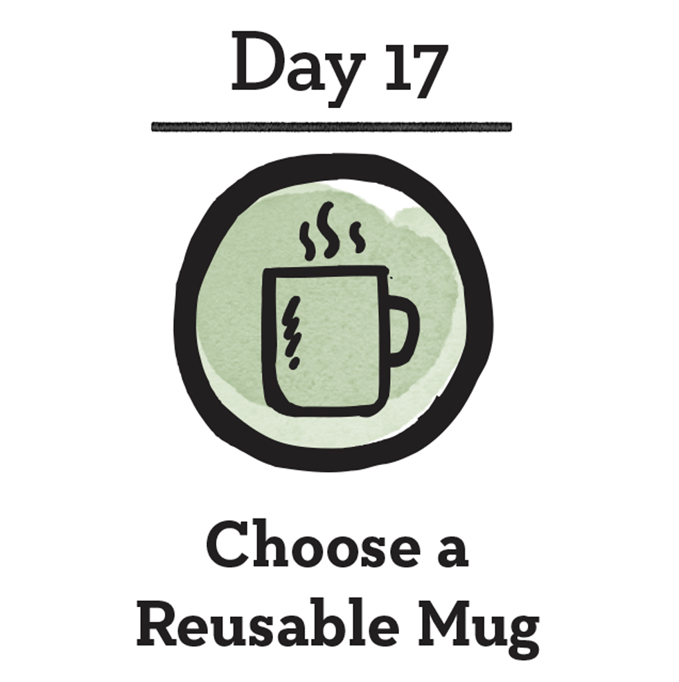 - Good For You:When you get into the habit of carrying your own reusable coffee mug, you're more likely to fill it up at home - a savings that can really add up over time. Can't live without a stop at your favorite coffeehouse? Many major coffee chains and smaller local cafes will offer a discount or rewards program when you use your own cup.Good For The Planet:It's estimated that anywhere between 16 (on the conservative end) to 50 billion paper coffee cups are being thrown away in the United States alone each year. It is easy to assume that because they are paper, they are more eco-friendly, but the reality is that only 1 in 400 cups are actually recycled. This is because there's a plastic lining inside every cup to make them waterproof, which might be good for your hands and drink, but not so much for the recycling process.