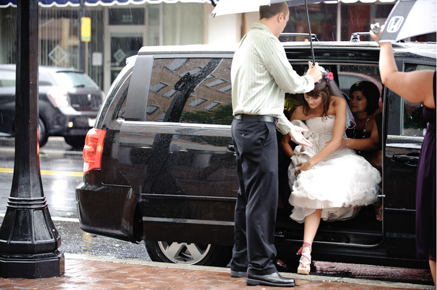 wedding in the rain lakeland fl
