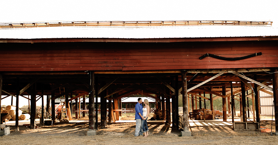 Santa Fe River Ranch | Barn Engagement Photography