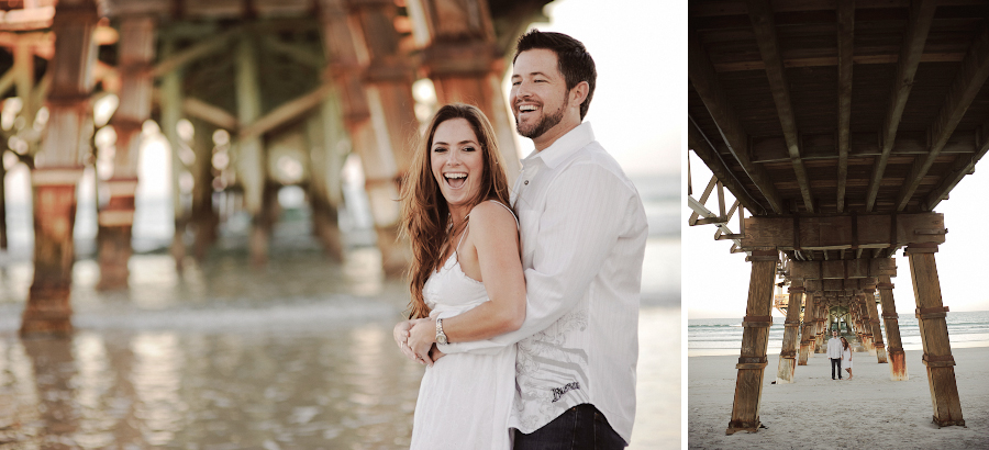 Sunglow Pier | Daytona Beach Wedding Photography