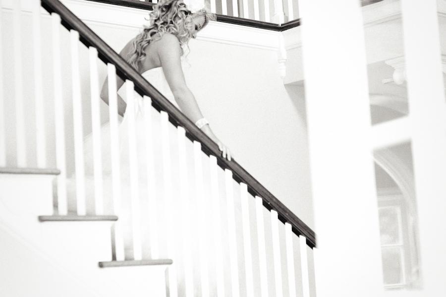 Marie Selby Gardens Wedding | Sarasota FL | Staircase