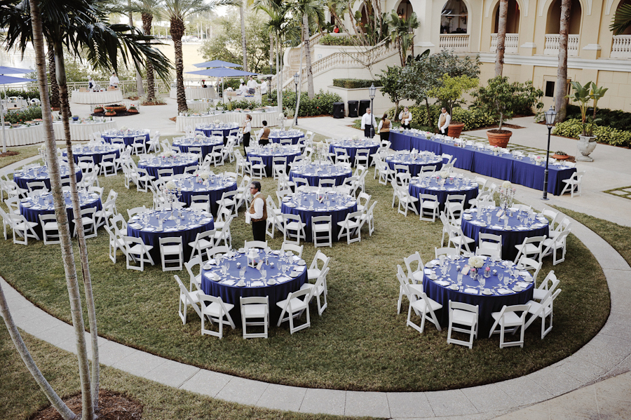 The Ritz Carlton Wedding | Sarasota FL |  Outdoor Reception