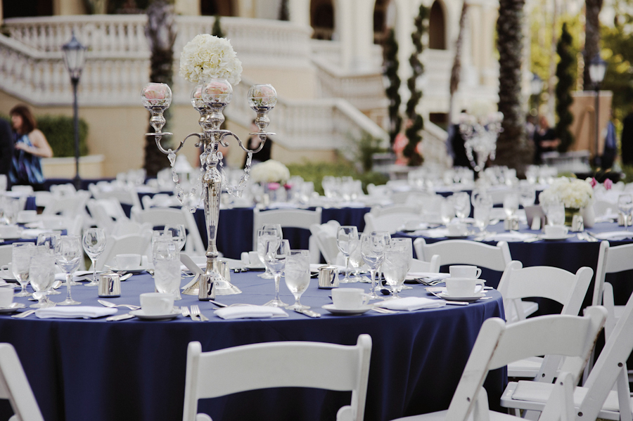 The Ritz Carlton Wedding | Sarasota FL | Beautiful Centerpiece
