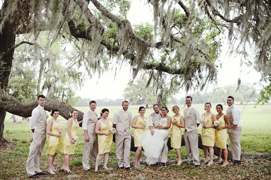 Barrington Hill Farm FL | Wedding Party