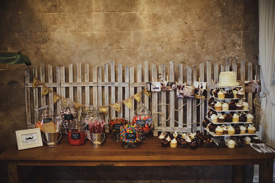 Barrington Hill Farm FL | Rustic Wedding Desert Table