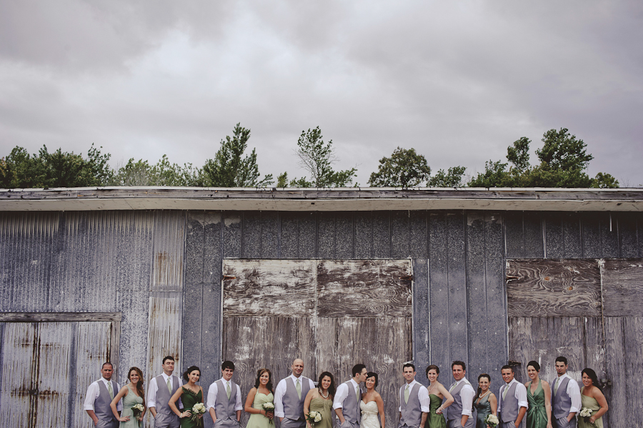 Wedding Party at Crystal River Train Depot