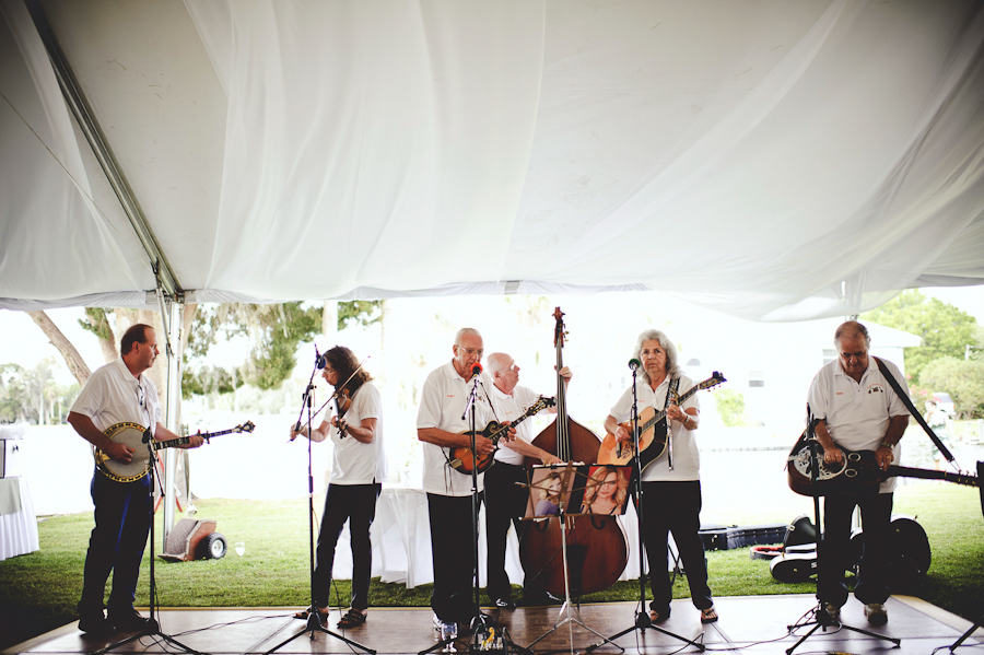 Folk Band at the Plantation at Crystal River Wedding