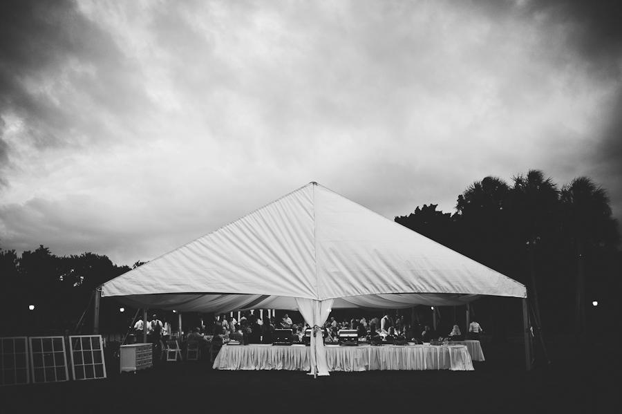 Wedding Reception Tent at Plantation at Crystal River