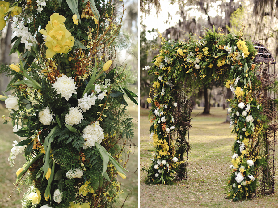 Beautiful Wedding Arch Flowers | Prange's Gainesville FL