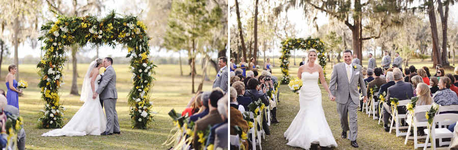Country Wedding Ceremony | Santa Fe River Ranch