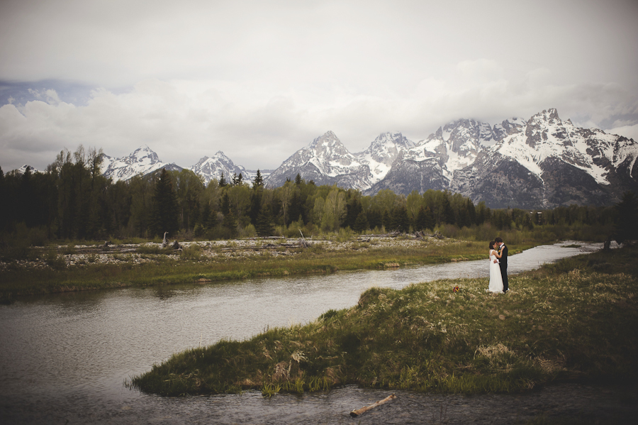 grand tetons wedding | schwabacher landing