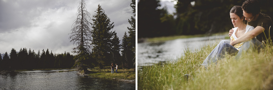 wyoming, creek, engagement