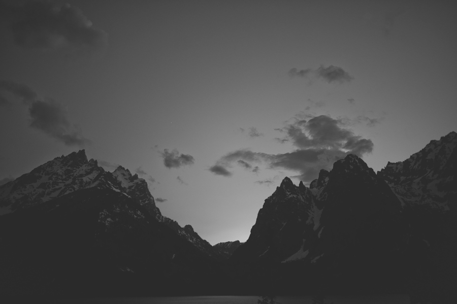 moody grand teton national park black and white