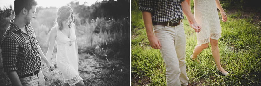 sunglow photography, lakeland engagement, natural light, woods
