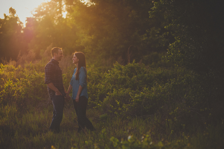 sunglow photography, sunset engagement session