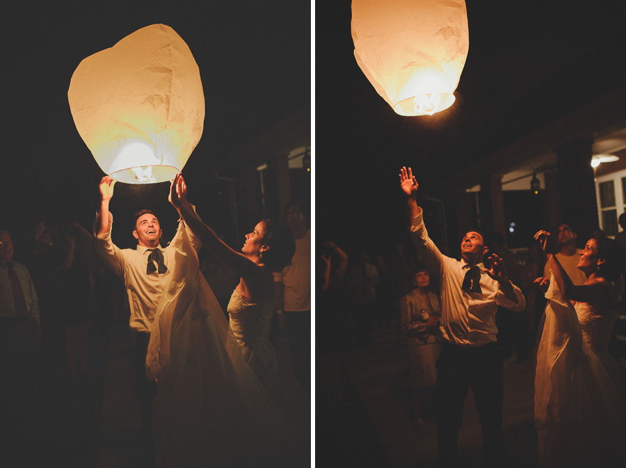 wedding wish lantern