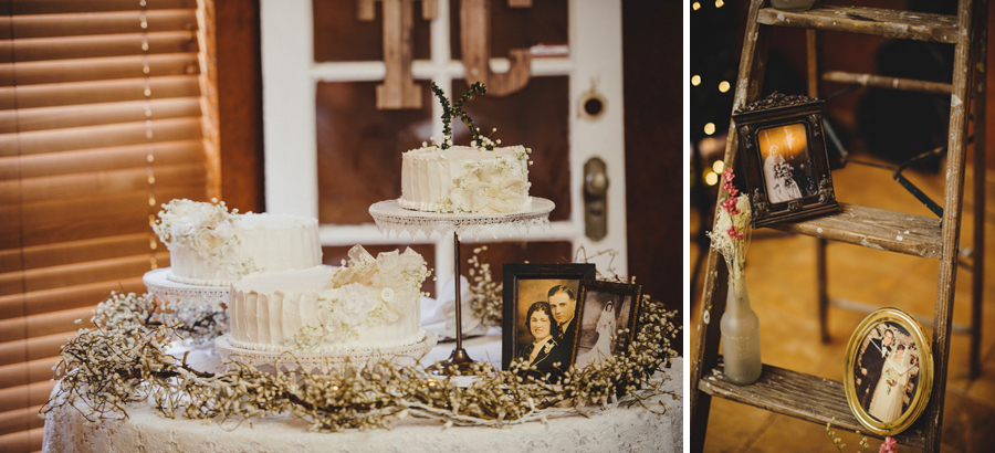 diy vintage wedding details