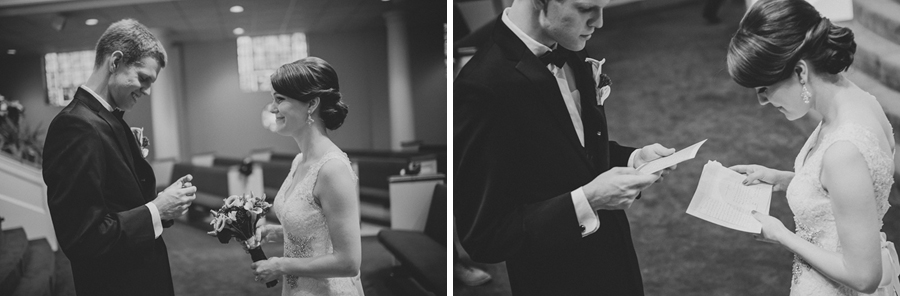 trinity presbyterian wedding