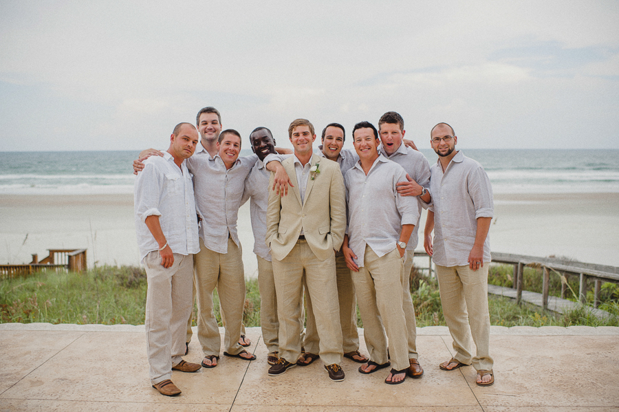 linen grooms outfit