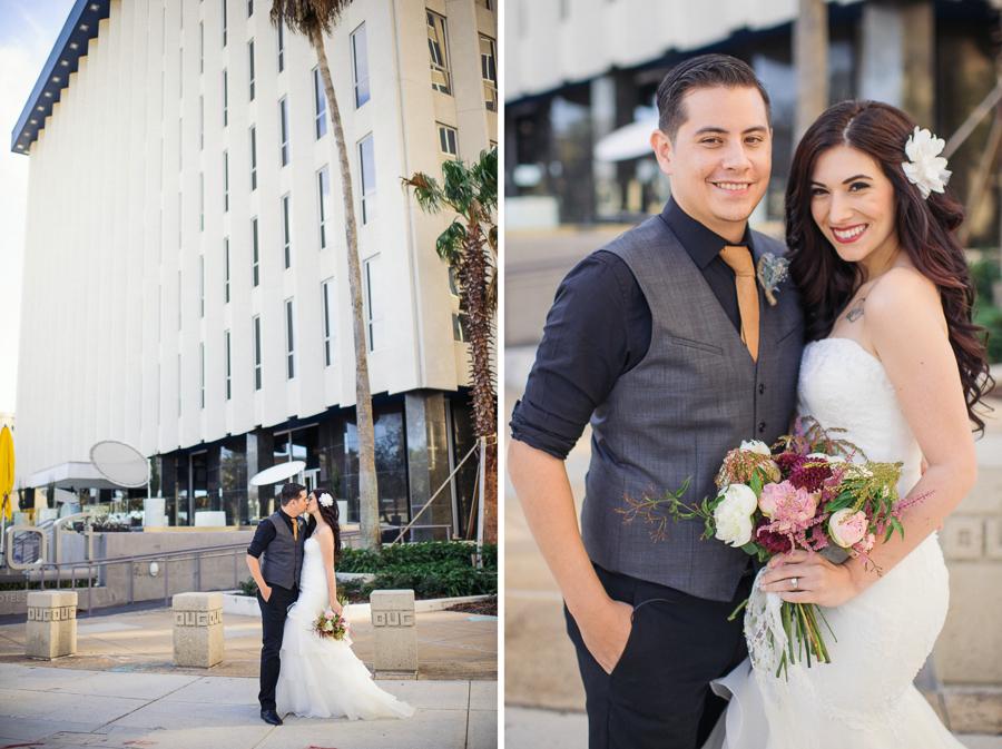modern hotel wedding orlando