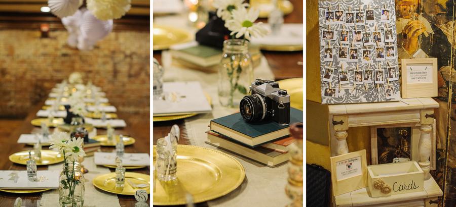 DIY wedding photographer details