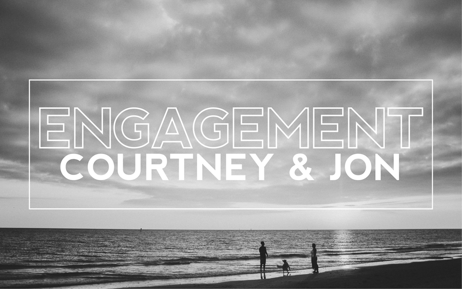 courtney spanjers and jon dewey engagement session by sunglow photography