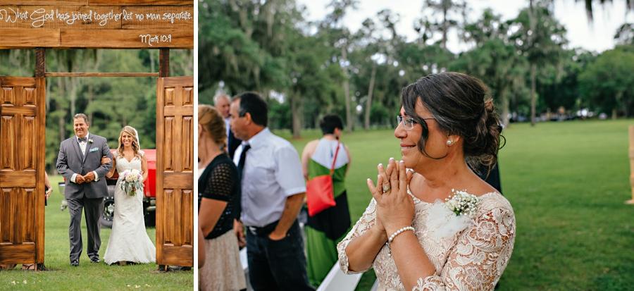 Florida Wedding in a Field