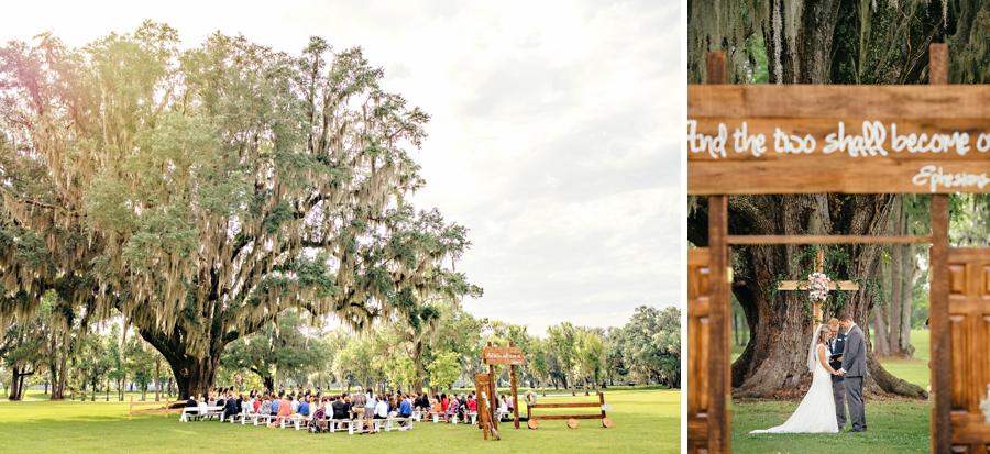 Santa Fe River Ranch Wedding