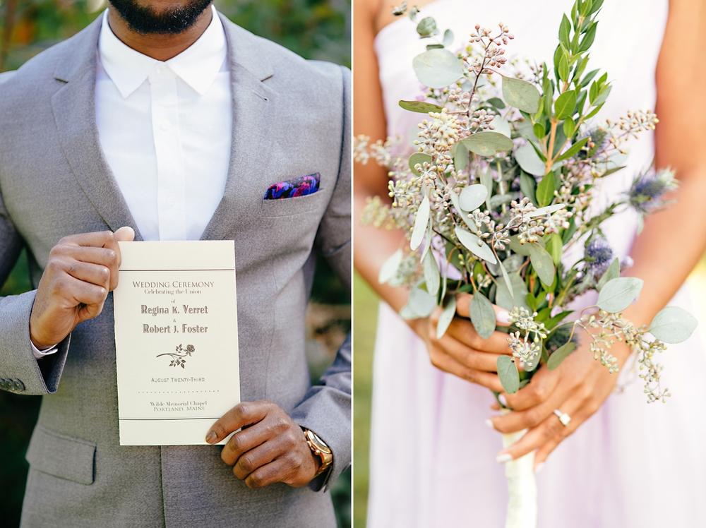 lavender and grey diy wedding