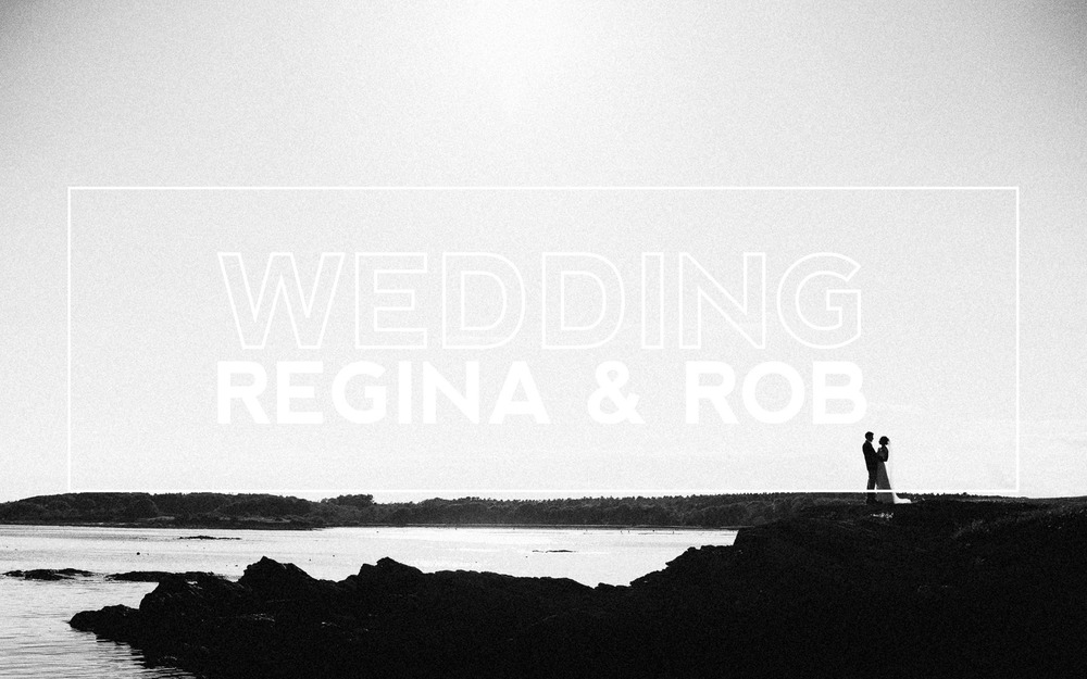 Coastal Maine Summer Wedding, Regina and Robert Foster
