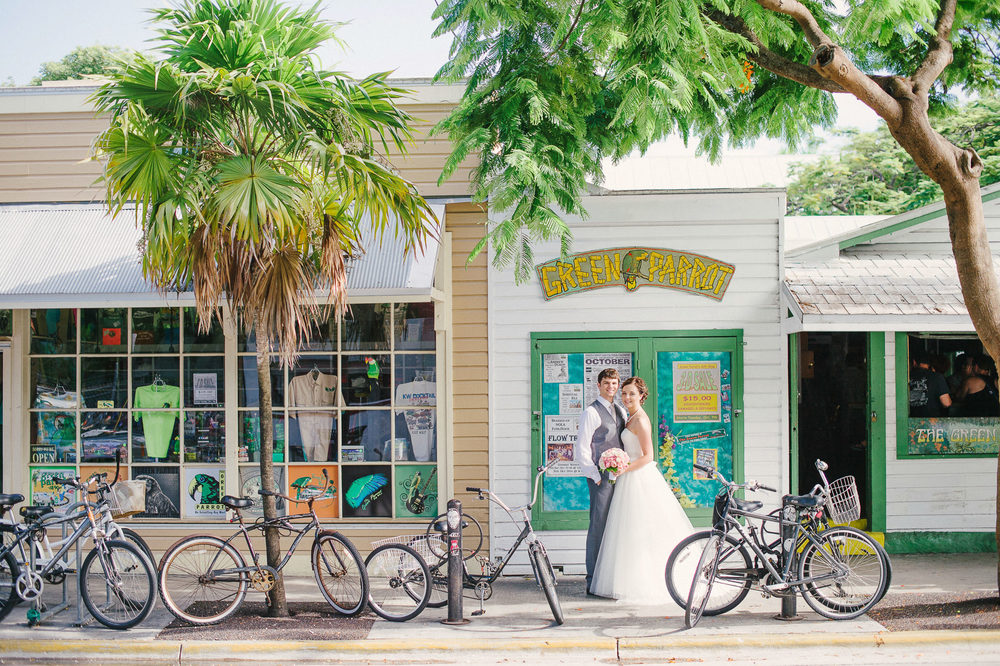green parrot bar key west florida wedding