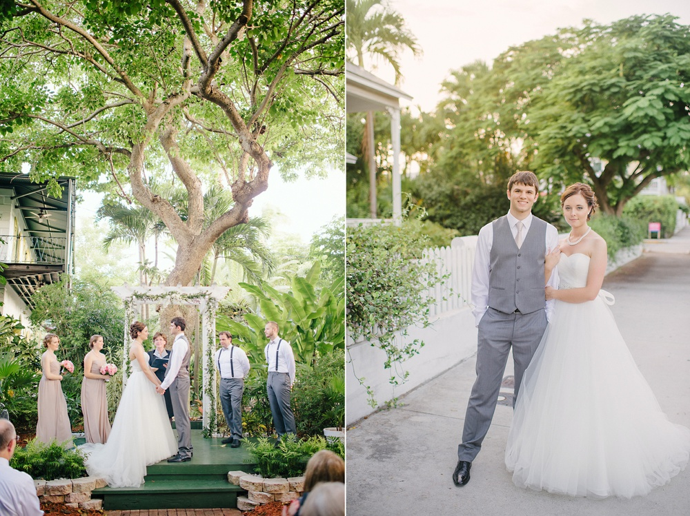 hemingway house wedding key west florida